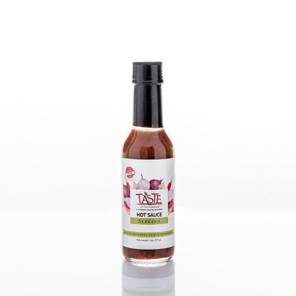 Serrano Hot Sauce