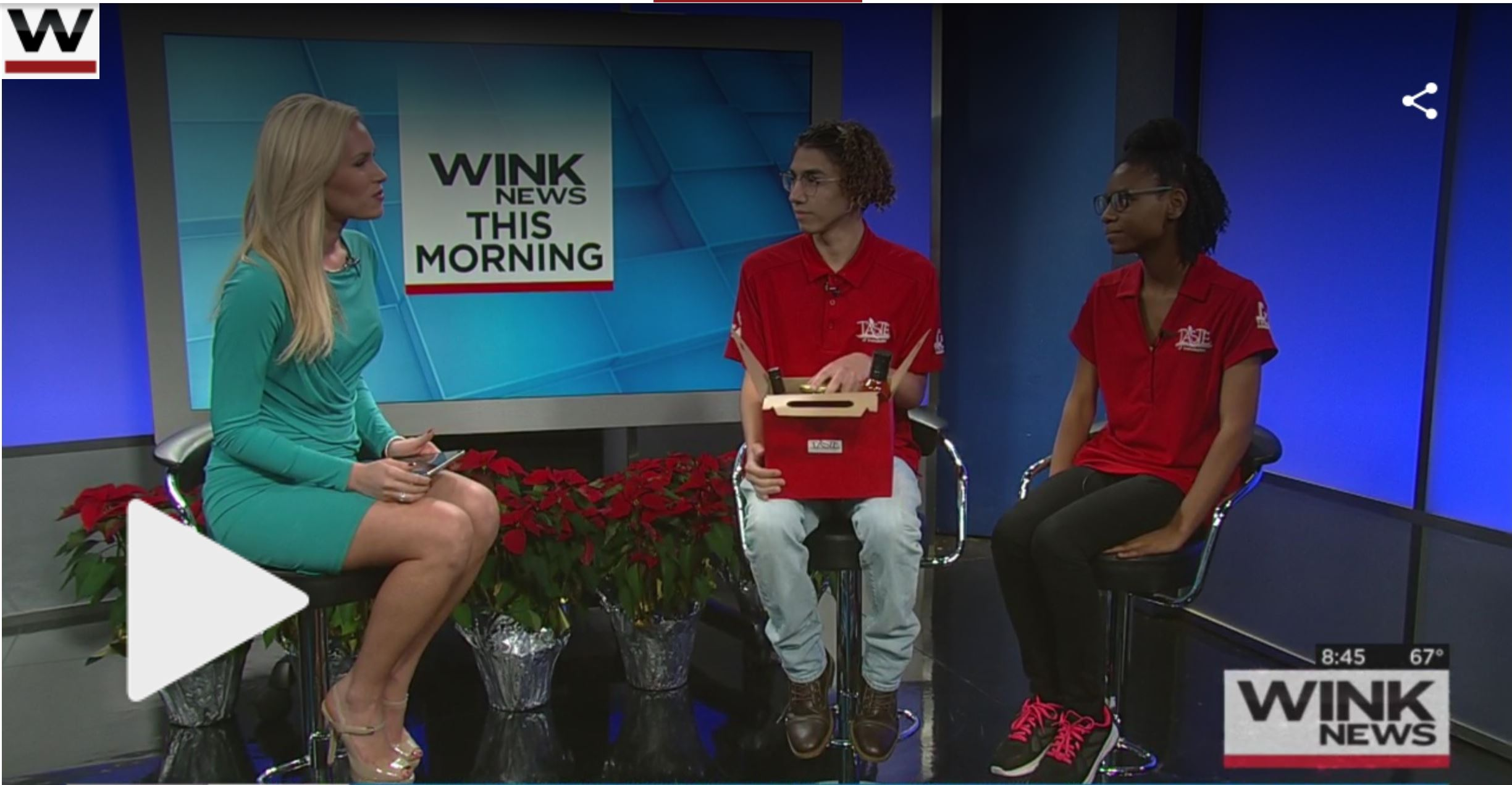 WINK News Gift Baskets Dec 2017